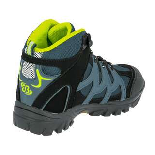 Brütting Outdoorstiefel Vision High Kids - petrol/schwarz/lemon 30