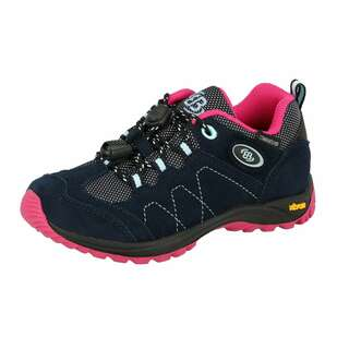 Brütting Outdoorschuh Bergen Low - marine/pink/blau